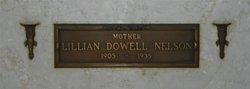 Lillian <I>Dowell</I> Nelson