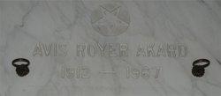 Avis Francis <I>Royer</I> Akard