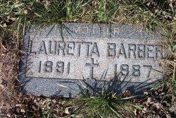 Lauretta G. <I>Byrnes</I> Barber
