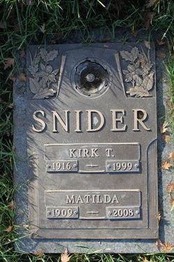 Rev Fr Kirk T Snider