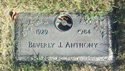 Beverly J Anthony