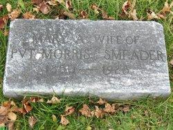 Mary E. <I>Keller</I> Smeader