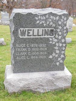 Alice <I>Clark</I> Welling