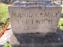 Marion Emily Leftwich