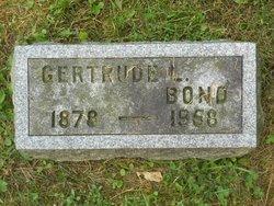 Gertrude L. <I>Humiston</I> Bond