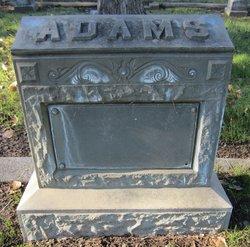 Emma Amy <I>Jenne</I> Adams
