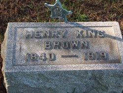 Henry King Brown