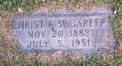 "Hristo K ""Christ"" Sugareff"