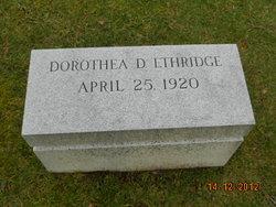 Dorothea <I>Dunmore</I> Ethridge