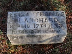 Eliza Thomas <I>Harris</I> Blanchard