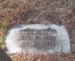 Esther Bloxton