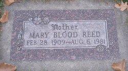 Mary Robins <I>Blood</I> Reed