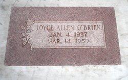 Joyce <I>Allen</I> O'Brien