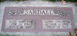 Lottie Wade <I>Day</I> Sandall