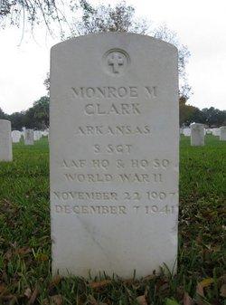 Monroe M Clark