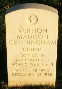 Vernon Madison Cunningham