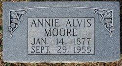 Annie <I>Alvis</I> Moore