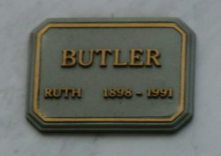 Ruth Mae <I>Osborn</I> Butler