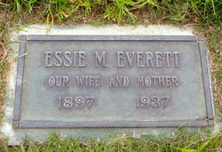 Essie Mary <I>Aderholt</I> Everett
