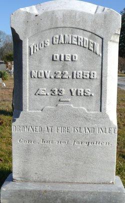 Thomas Camerden