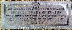 Judith <I>Levenson</I> Ruston