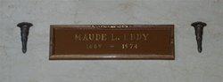 Maude L. Eddy