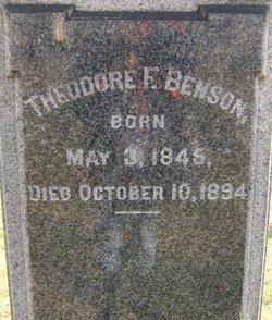 Theodore Franklin Benson
