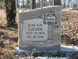 Ruby <I>Fox</I> Golden