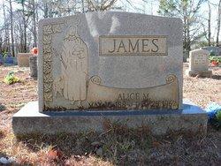 Alice M. James
