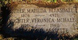 Veronica <I>Bleasdale</I> McHale