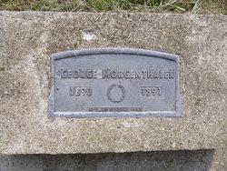 George Morgenthaler