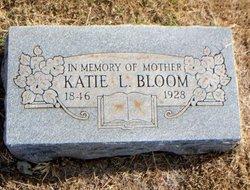 """Catherine Lucynda """"Katie"""" <I>Klein</I> Bloom"""
