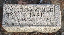 """Clara """"Wena"""" <I>Williams</I> Bard"""