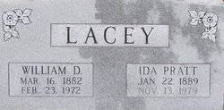 Ida <I>Pratt</I> Lacey