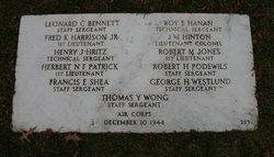 SSGT Thomas Y Wong