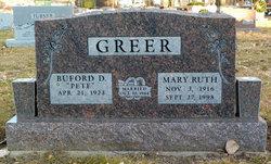 Mary Ruth <I>Fain</I> Greer