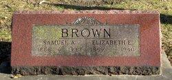 "Elizabeth E. ""Lizzie"" <I>Leahy</I> Brown"
