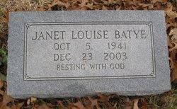 Janet Louise <I>Torrance</I> Batye