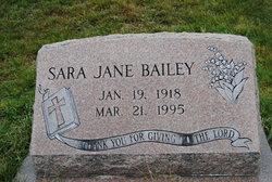 Sara Jane <I>Goodman</I> Bailey