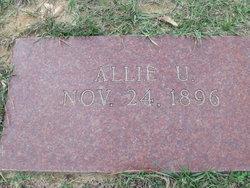 Allie Urania <I>Thomas</I> Layne