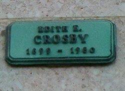 Edith Ellen <I>Beckell</I> Crosby
