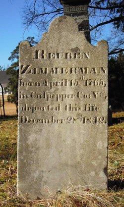 Reuben Zimmerman, Sr