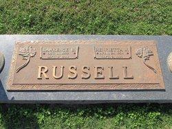 Henrietta <I>Watkins</I> Russell