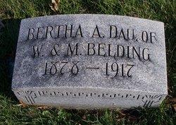 Bertha A. Belding