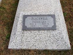 """Bessie Lea """"Bee"""" <I>Owen</I> Blackwell"""