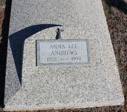 Anna Lee <I>Walker</I> Andrews