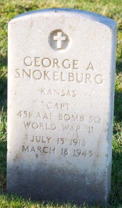 CPT George Albert Snokelburg
