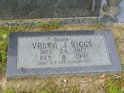 Valma J. Riggs