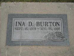 Ina <I>Danielsen Brown</I> Burton