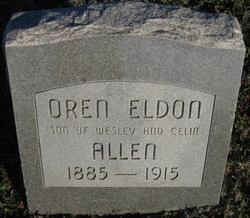 Oren Eldon Allen